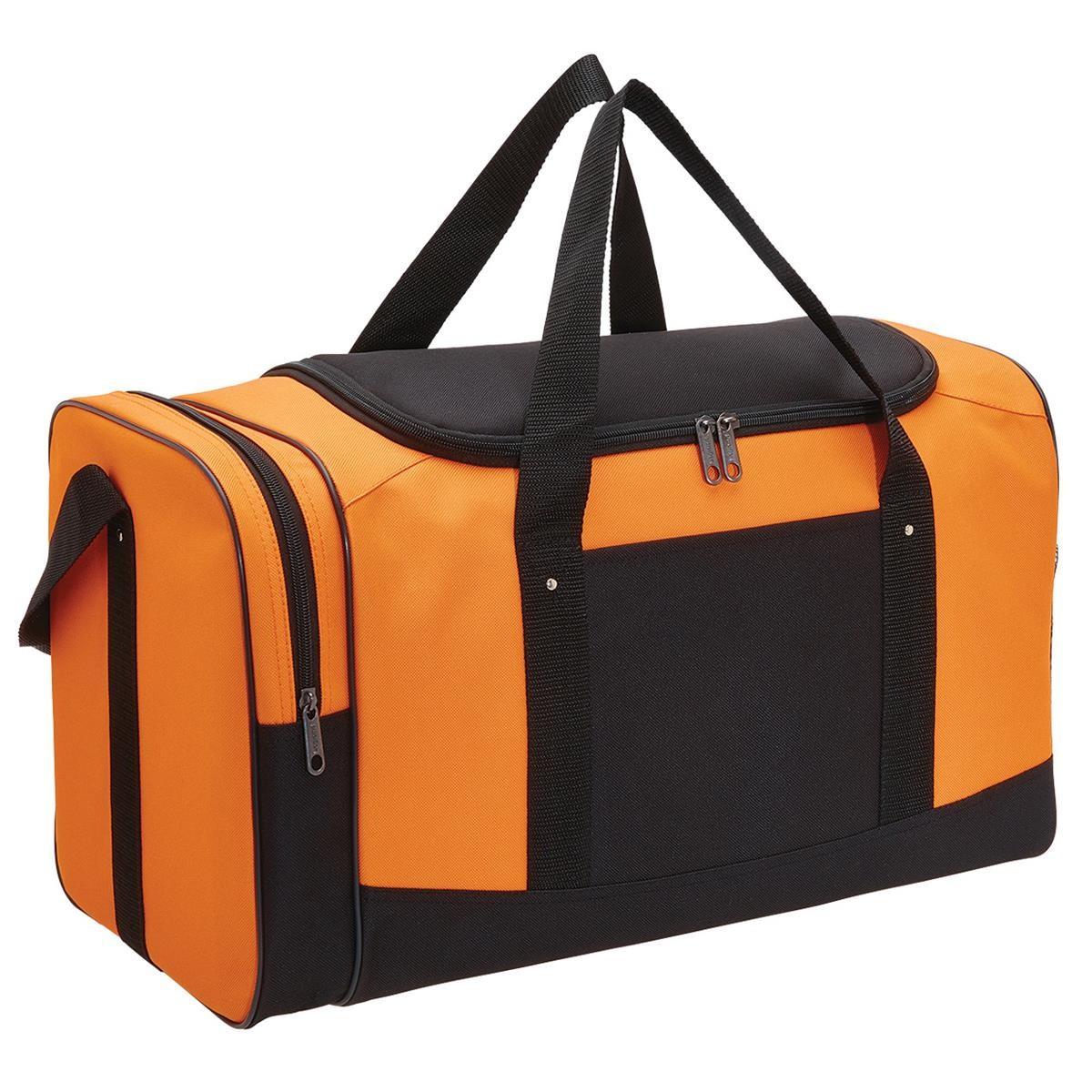 Spark Sports Bag - Orange & Black