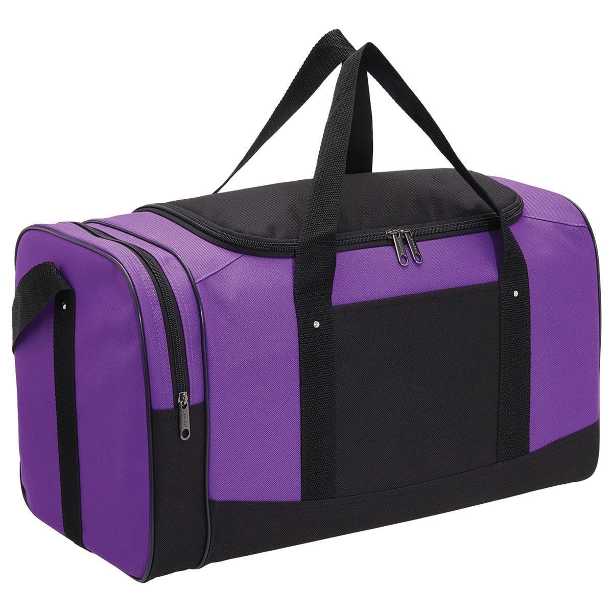 Spark Sports Bag - Purple & Black