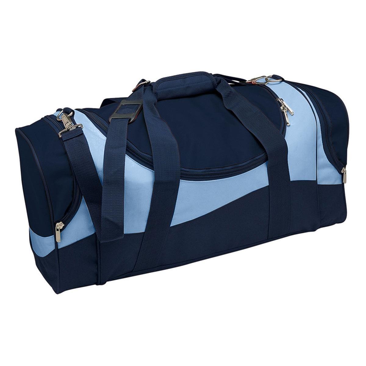 Sunset Sports Bag - Navy & Sky