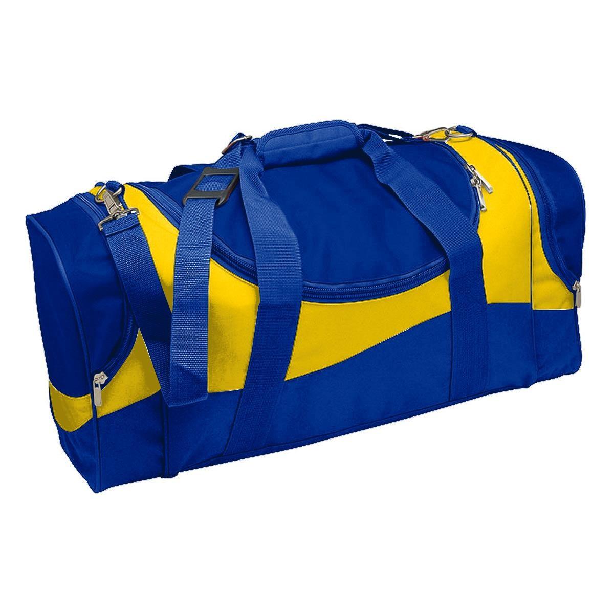 Sunset Sports Bag - Royal & Yellow