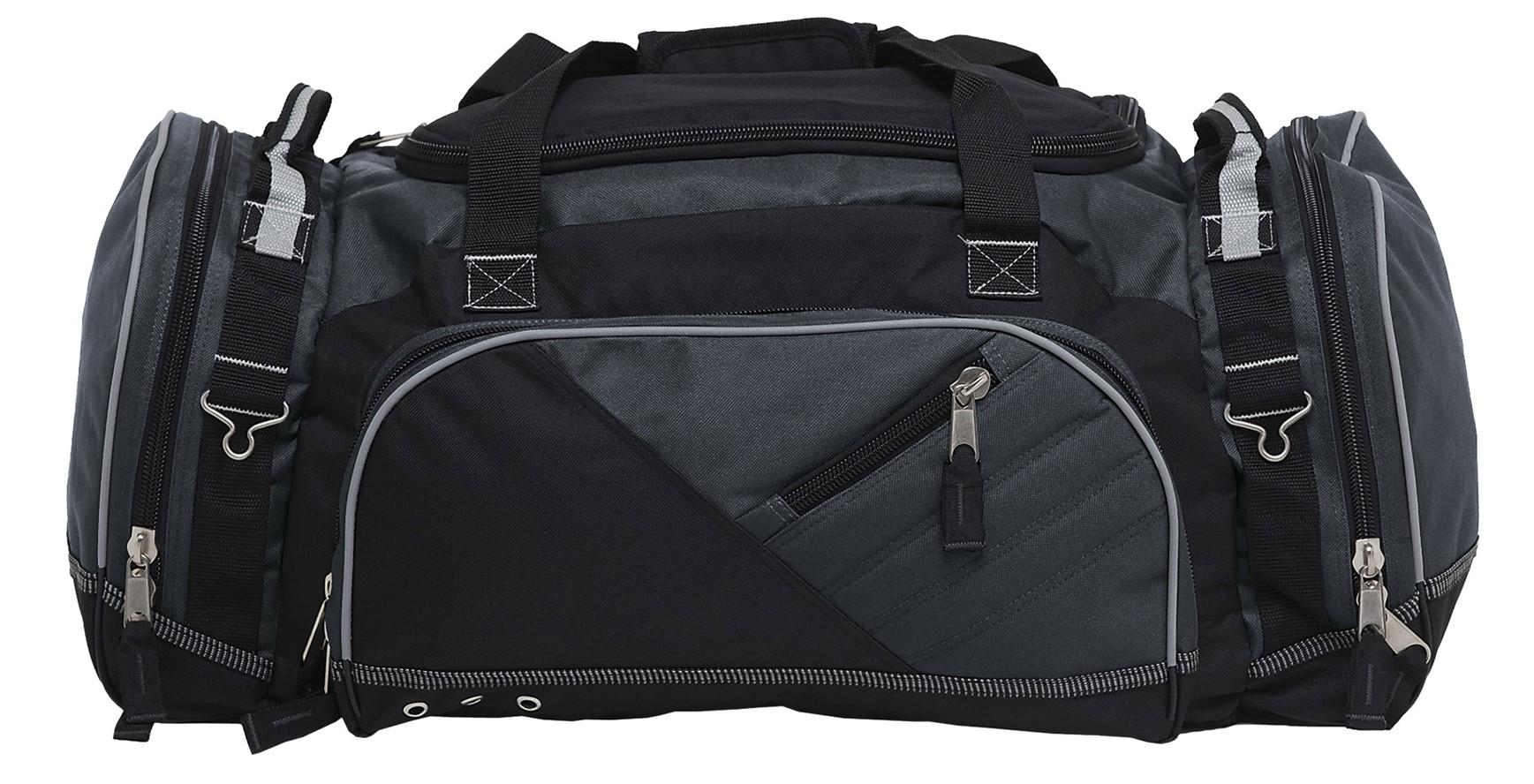 Recon Sports Bag - Black & Charcoal