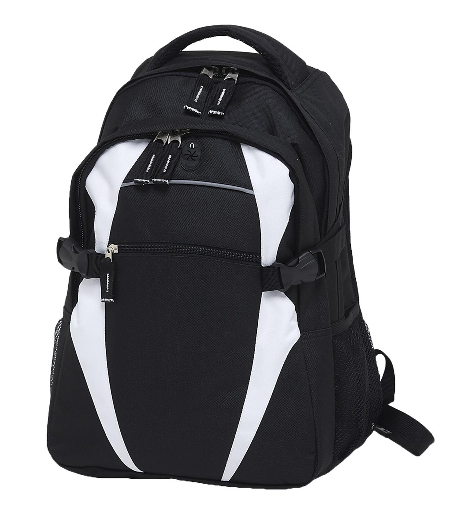 Spliced Zenith Backpack - Black & White