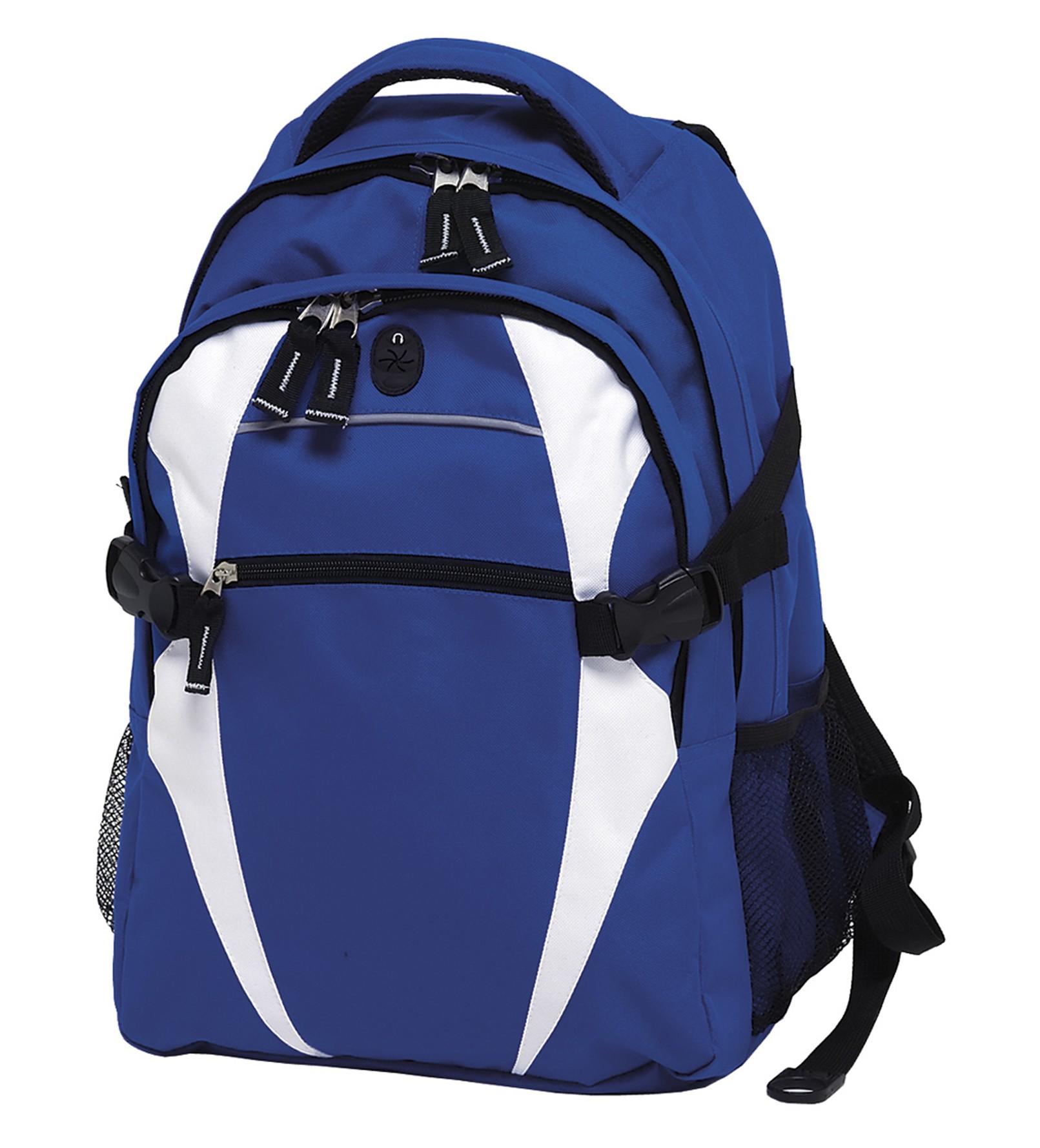Spliced Zenith Backpack - Royal & White