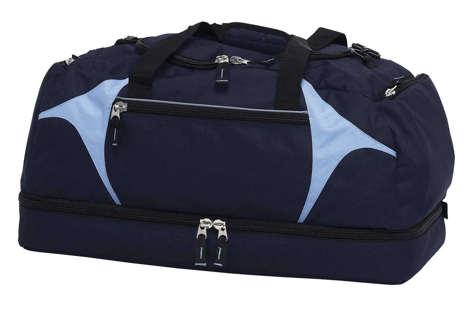 Spliced Zenith Sports Bag - Navy & Sky
