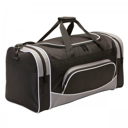 Ranger Sports Bag - Black & Grey