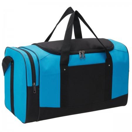 Spark Sports Bag - Aqua & Black