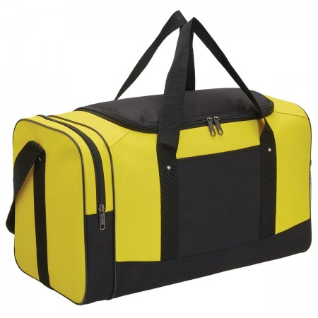 Spark Sports Bag - Yellow & Black