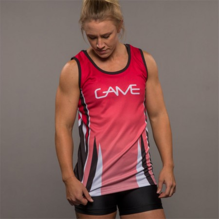 Netball Fitted Singlet