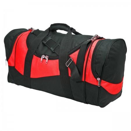 Sunset Sports Bag - Black & Red