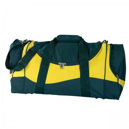 Sunset Sports Bag - Green & Gold