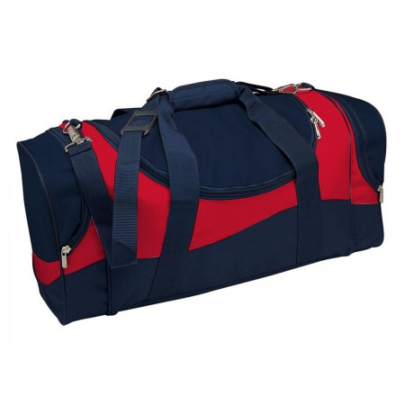 Sunset Sports Bag - Navy & Red