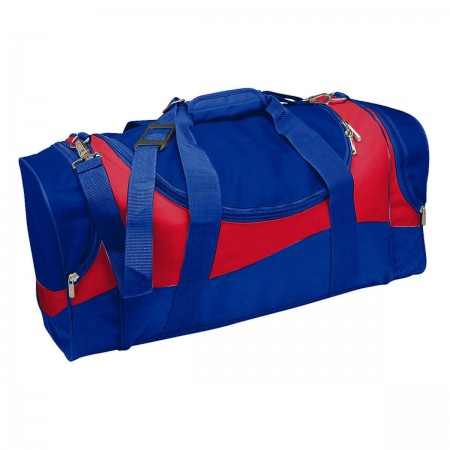 Sunset Sports Bag - Royal & Red