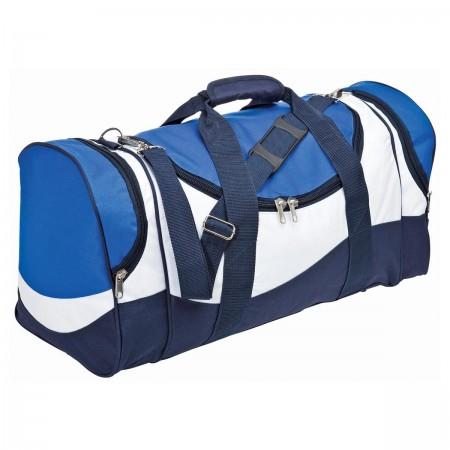 Sunset Sports Bag - Royal, White & Navy