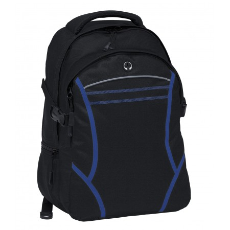 Reflex Backpack - Black & Royal