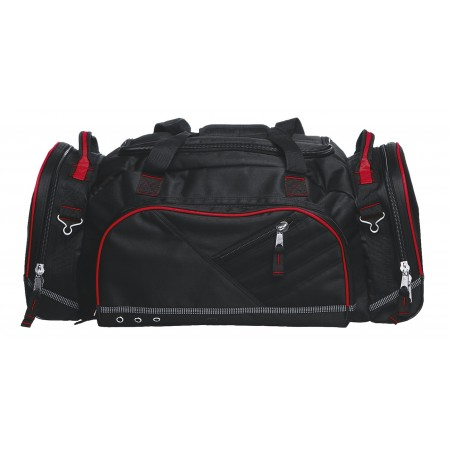 Recon Sports Bag - Black & Red