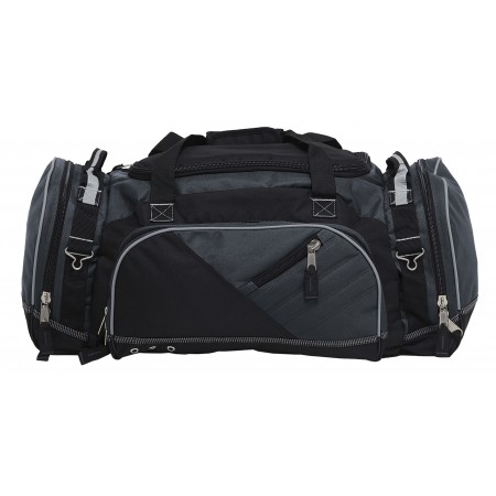 Recon Sports Bag - Black & Charcoal