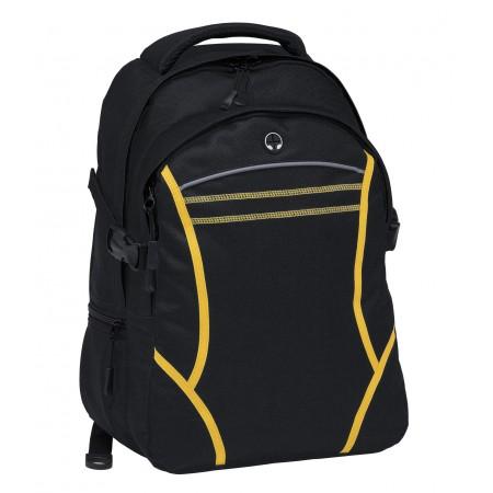 Reflex Backpack - Black & Gold
