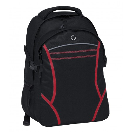 Reflex Backpack - Black & Red