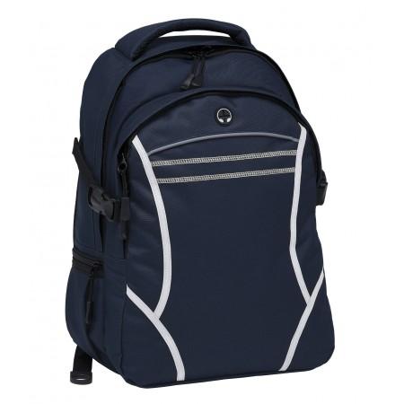 Reflex Backpack - Navy & White