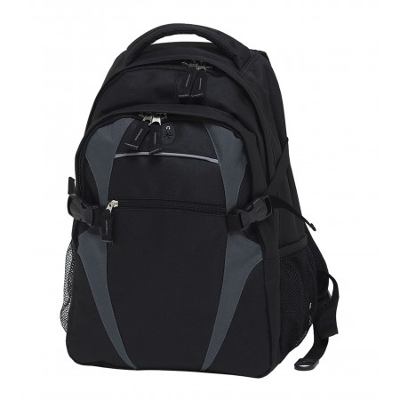 Spliced Zenith Backpack - Black & Charcoal