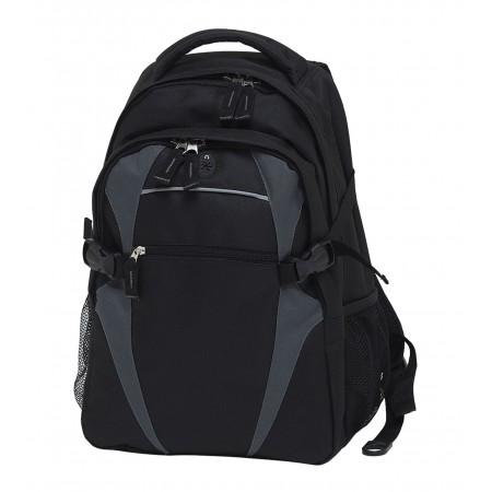 Spliced Zenith Backpack - Black & Charcoal